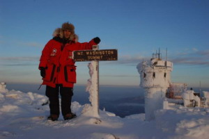 "Winter climb to the summit of Mount Washington - Home of the ""Worst weather in the world"""